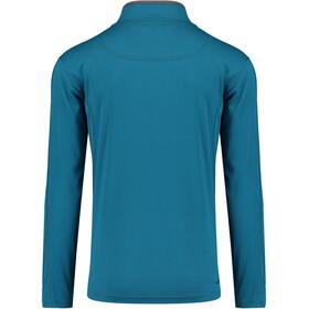 Kaikkialla M's Elijas Zipp Shirt 1/1 Petrol
